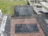 Graves of Gill and John Mackie at Kurri Kurri General Cemetery, NSW, Australia